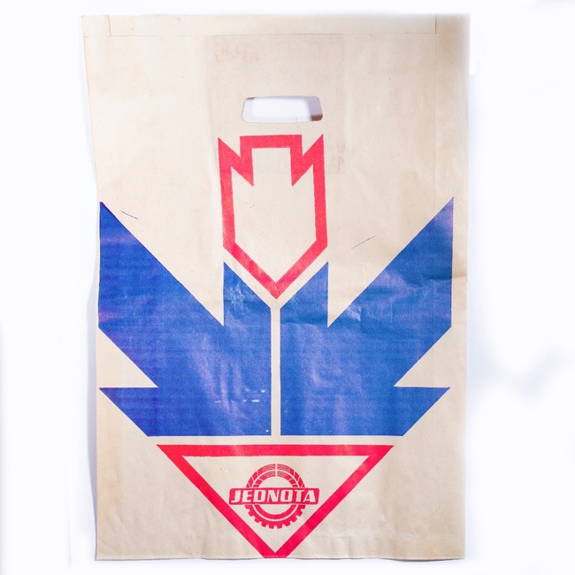 Shopping paper bag JEDNOTA
