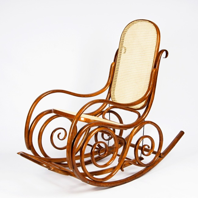 Rocking armchair - Thonet
