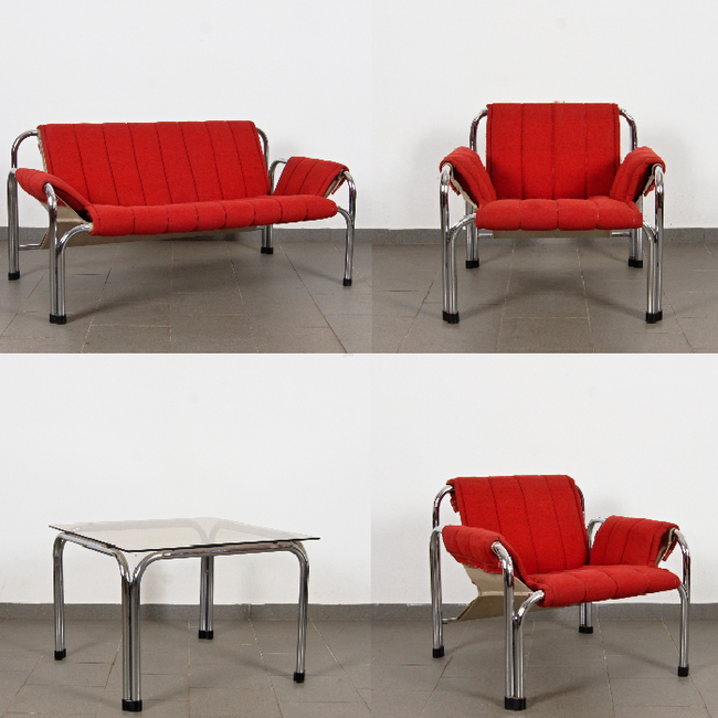 Seating - Viliam Chlebo (Sofa, table, 2x armchairs)