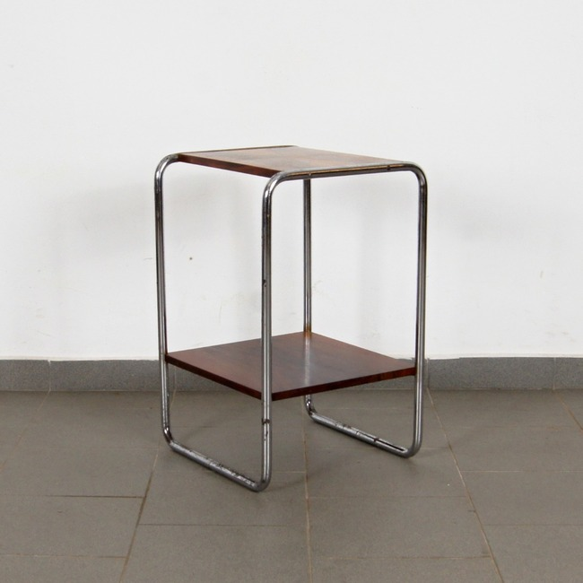Tubular side table - Robert Slezák