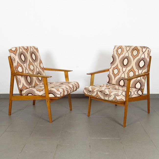 Armchairs - pair