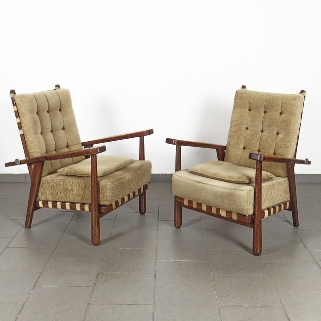 Positioning armchairs - Jan Vaněk (pair)