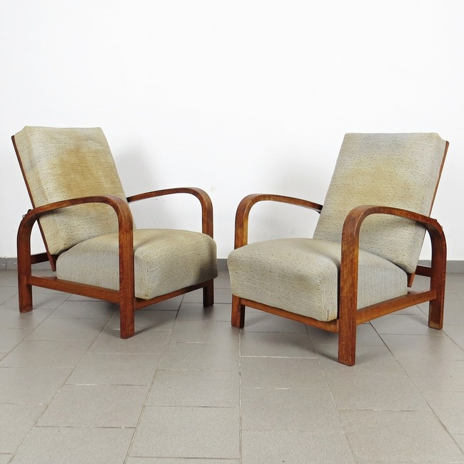 Positioning armchair - pair