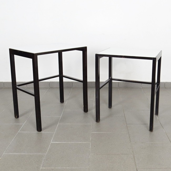 Nesting tables - Jindřich Halabala (2 pieces)