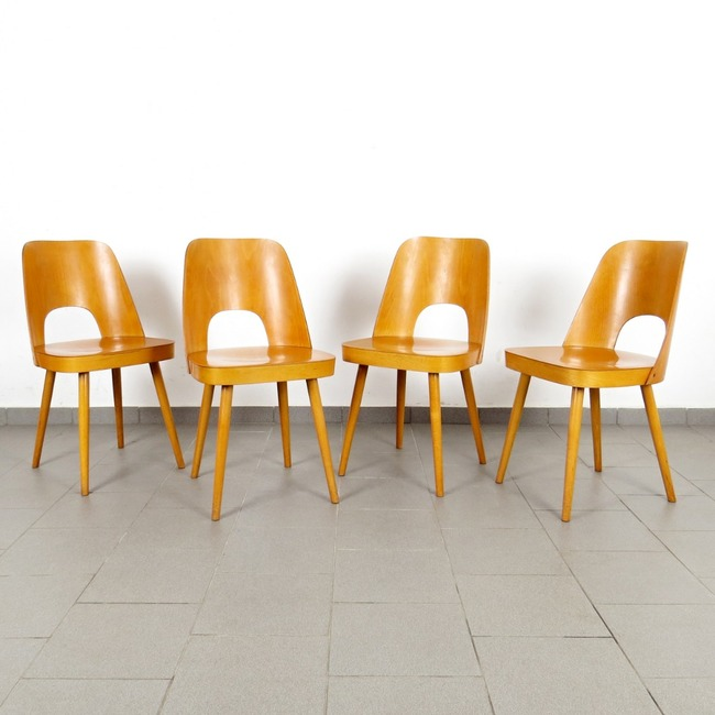 Chairs - Oswald Haerdtl (4 pieces)