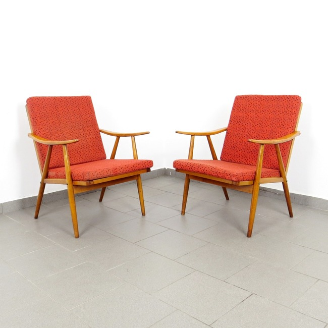 Armchairs Ton - pair