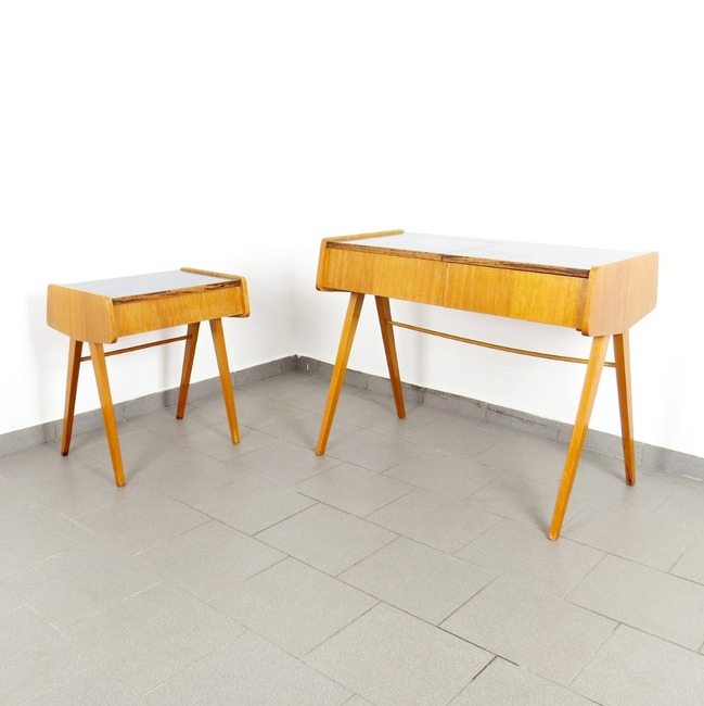 Dressing table and nesting table - František Jirák