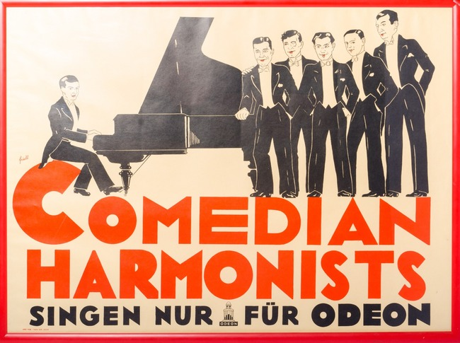 Orig. plakát - COMEDIAN HARMONISTS Swing Band