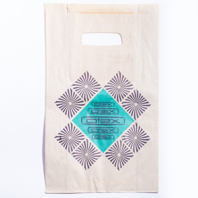 Shopping paper bag - OTEX